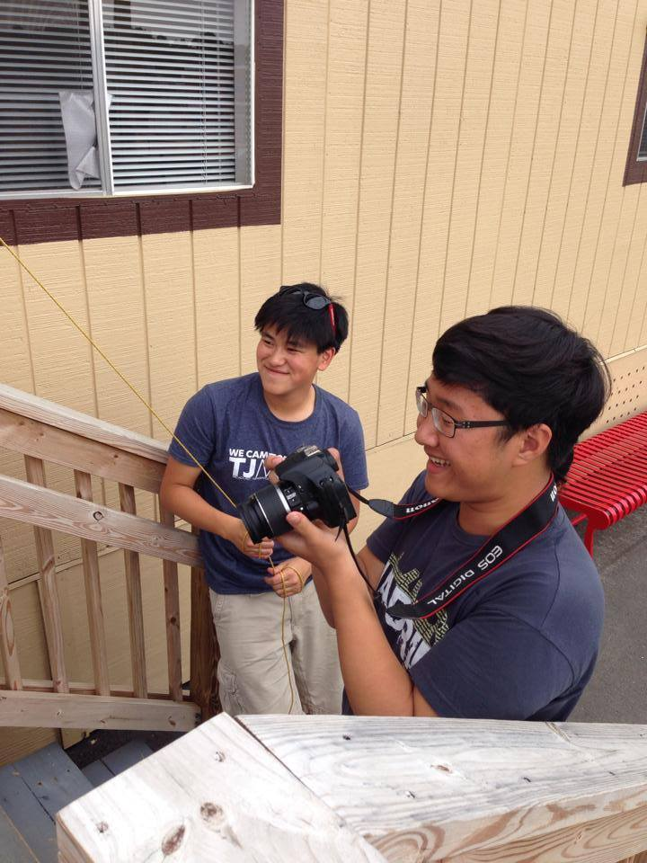 Two TJ Media photographers blitz the learning cottages for content.