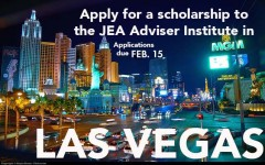 JEA Adviser Institute Scholarship: Apply by Feb. 15