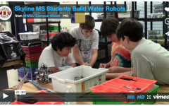 Skyline Middle School Students Build Water Robots