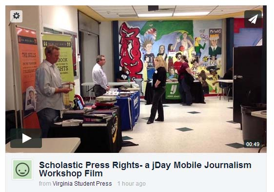 Chantilly Journalists Create Movie about Press Rights