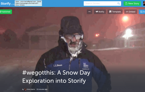 #wegotthis: A Snow Day Exploration into Storify