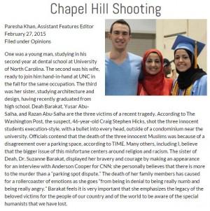chapel hill shooting